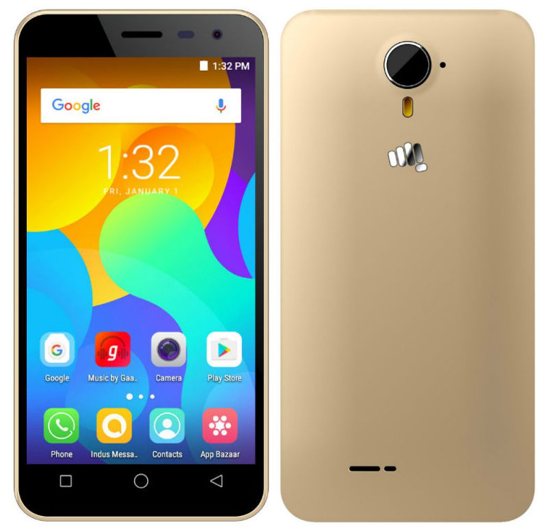 Micromax Spark Vdeo with 4.5-inch display, SD210 SoC, 4G VoLTE