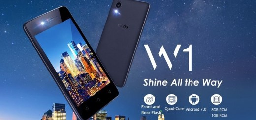 Tecno W1 Entry-Level 3G Smartphone with Android 7.0