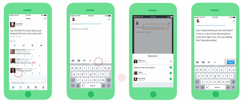 Now on Twitter: 140 characters for your replies