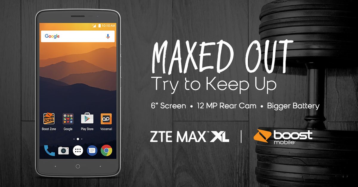 work letting zte max xl for boost mobile simply