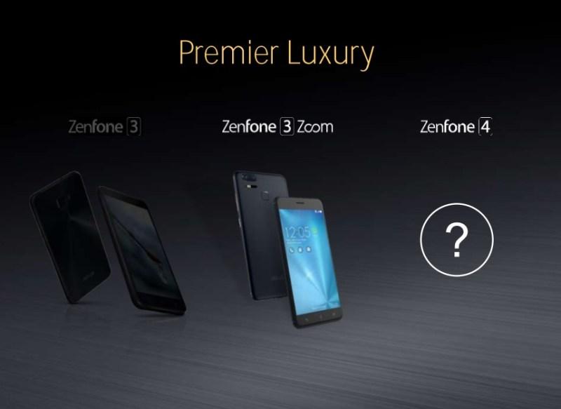 ASUS ZenFone 4 - ASUS ZenFone 4 Series Smartphones In The Works