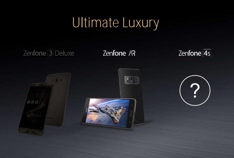 ASUS ZenFone 4s - ASUS ZenFone 4 Series Smartphones In The Works