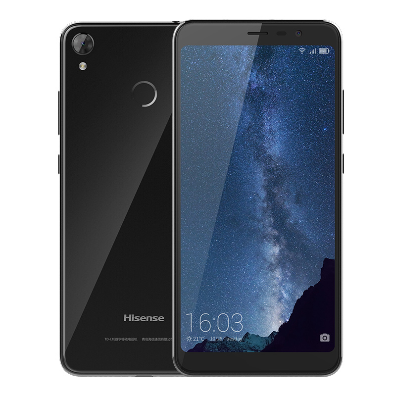 HiSense Hali: 5.99-inch 18:9 Display, 16MP Front camera, USB Type-C Port