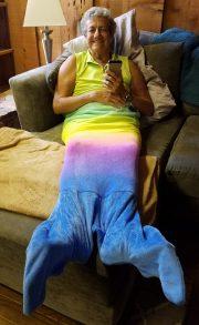 Mermaid relaxing