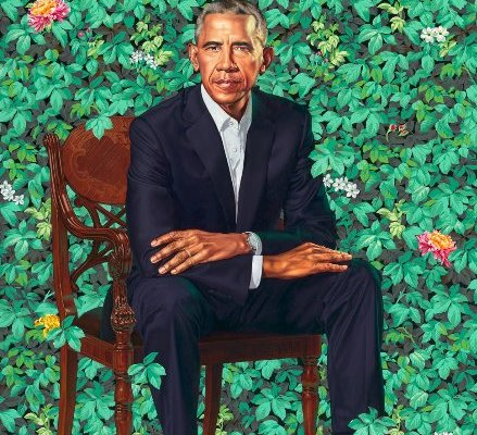 President Obama by Kehinde Wiley