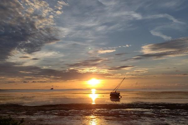 Sunset at Crystal Beach, FL