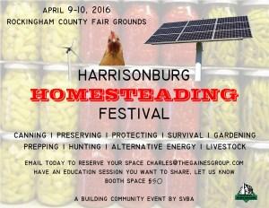 homesteading festival