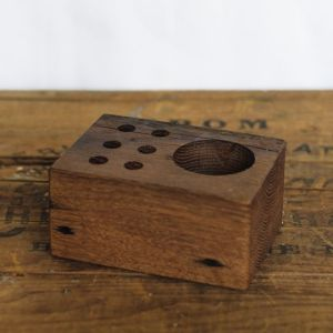 Oak Desk Caddy