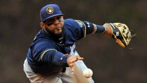 Jonathan Villar hasn't committed an error at second base in 75.1 career MLB innings.  (Patrick Gorski/USA TODAY Sports)