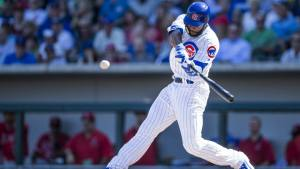 Jason Heyward, a four-time Gold Glove Award winner and 2010 MLB All-Star, is in the process of rebuilding his swing. (Getty Images)