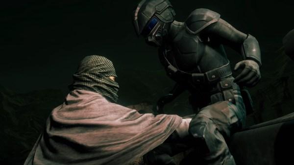 Slick ninja suit, bro!