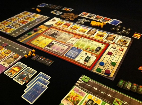 The Board Game Fanatic | The Manhattan Project