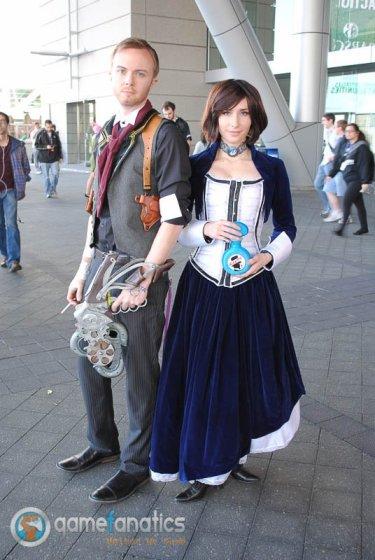 PAX East 2014 - Booker and Elizabeth Bioshock Cosplay (2)