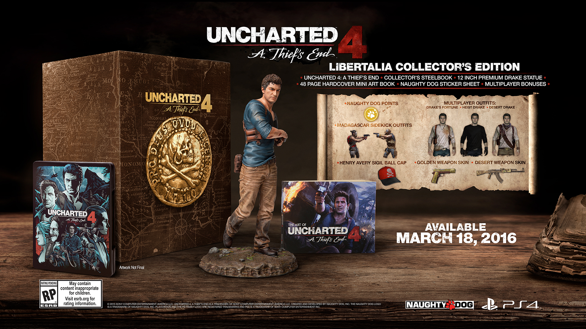 Uncharted 4: A Thief's End has an Official Release Date - The Game