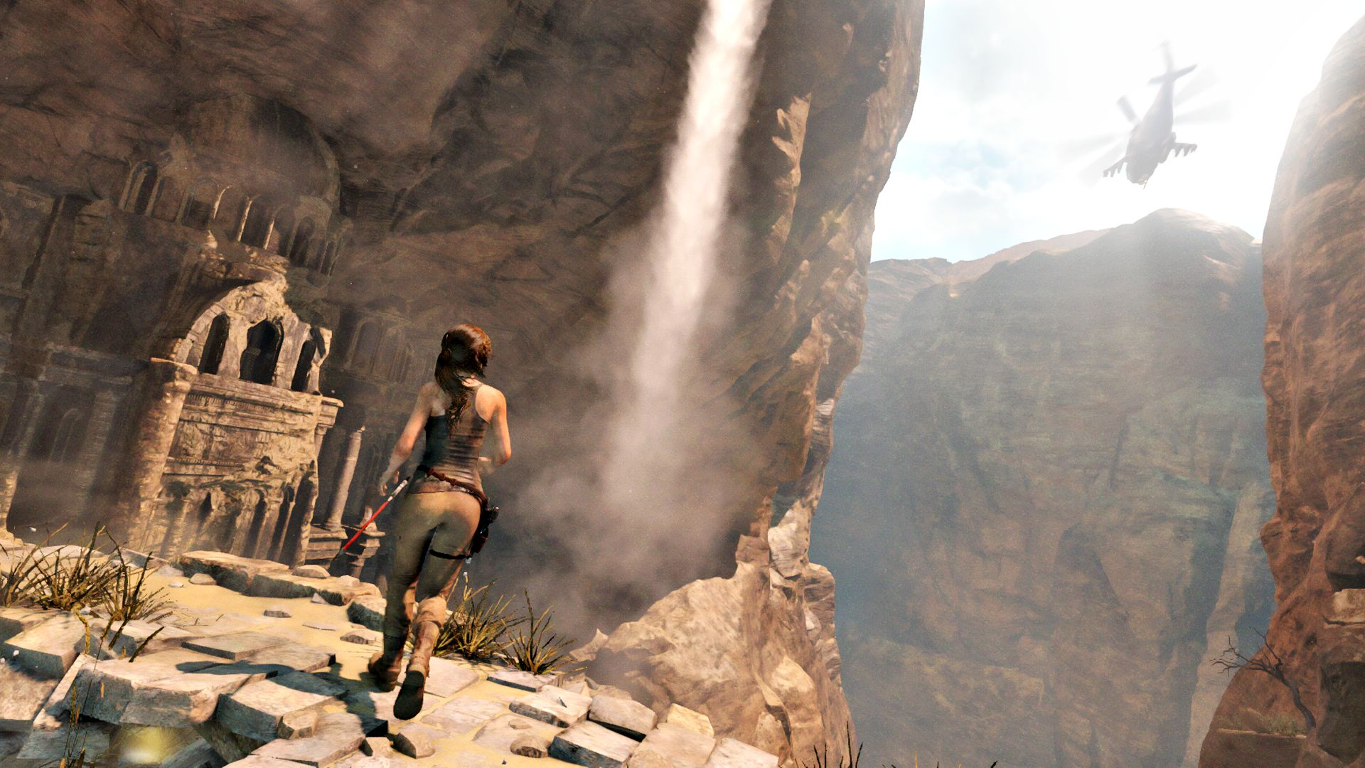 Rise Of The Tomb Raider Gameplay Demo Reveals Tombs The Game