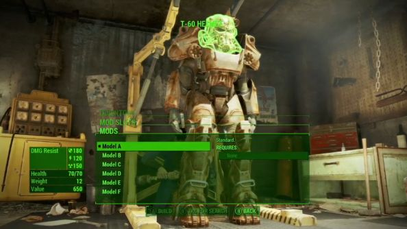 Fallout 4 Character System