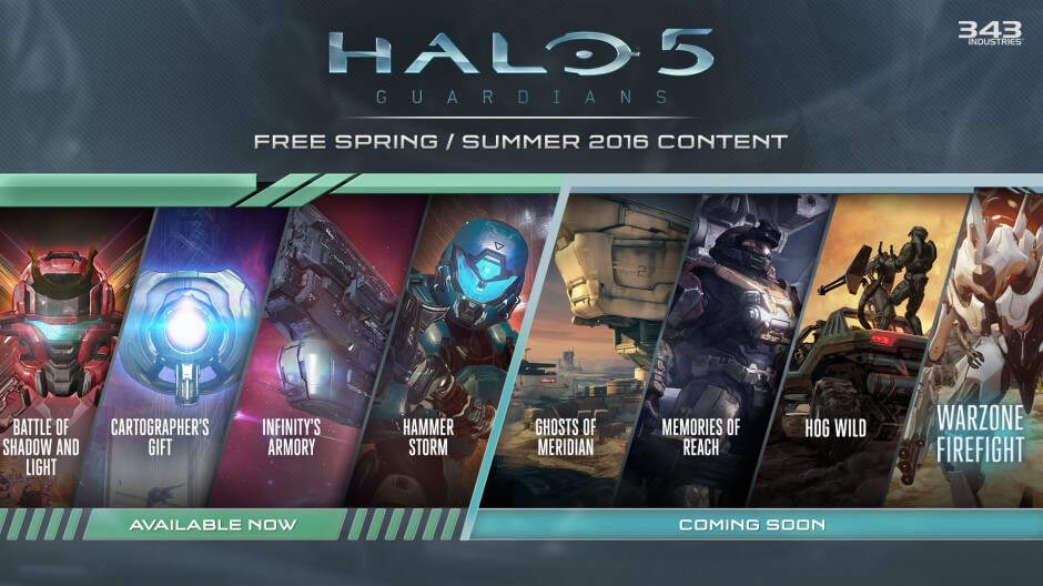 Halo 5 Content Roadmap