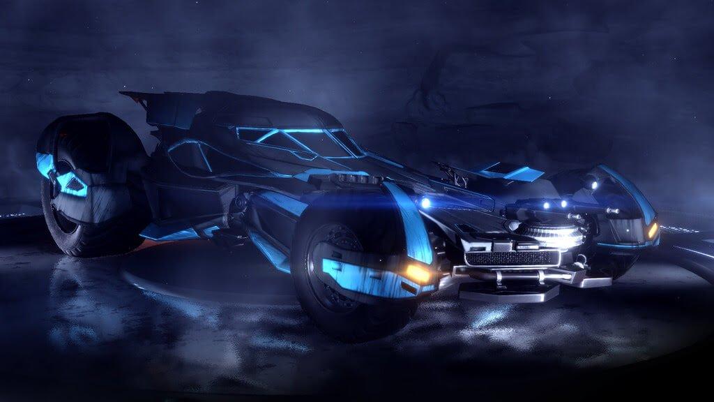 Rocket League Batman v Superman Batmobile DLC