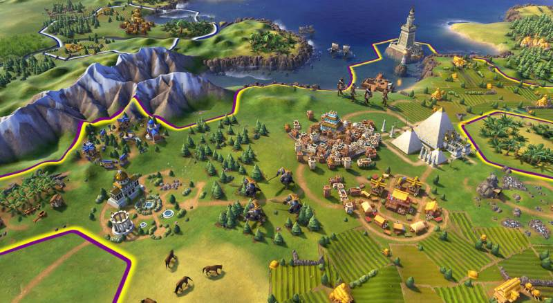 Civilization VI Land