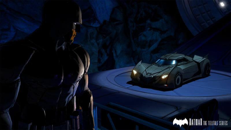Batman-The Telltale Series Batmobile The Game Fanatics