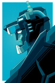 Blue Voltron by Craig Drake