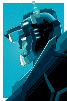 Blue Voltron by Craig Drake