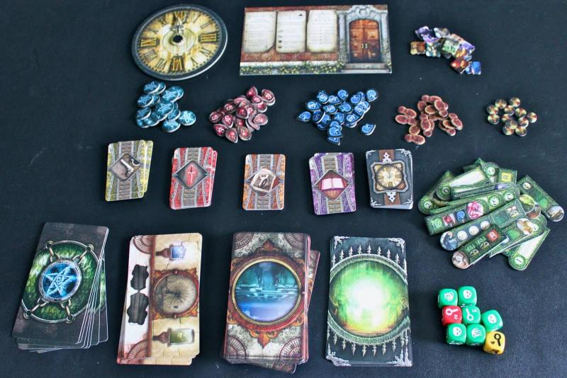 Elder Sign components