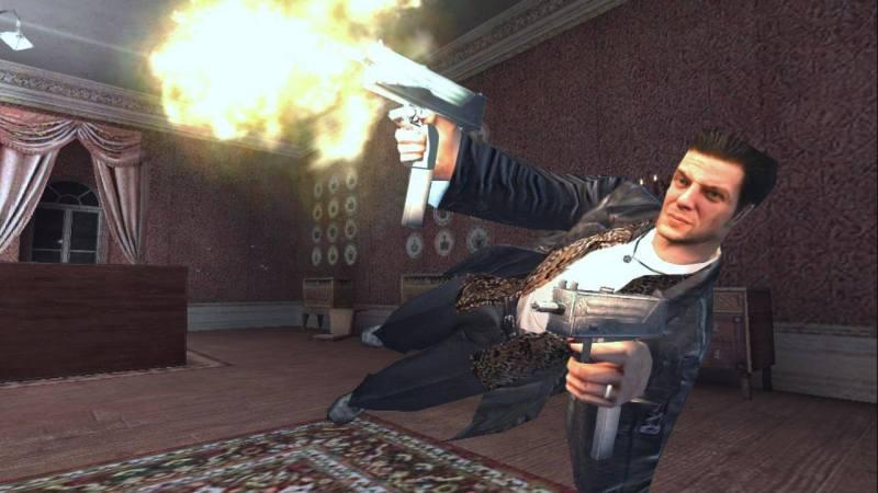 Max Payne Gun Play