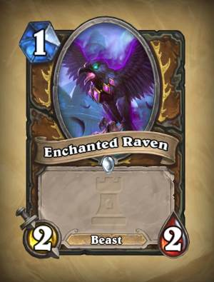 Enchanted Raven - Hearthstone