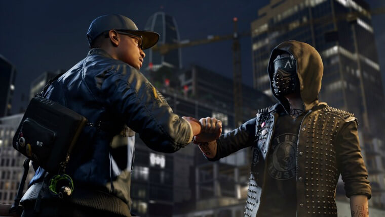 Watch Dogs 2 Review Fist Bump