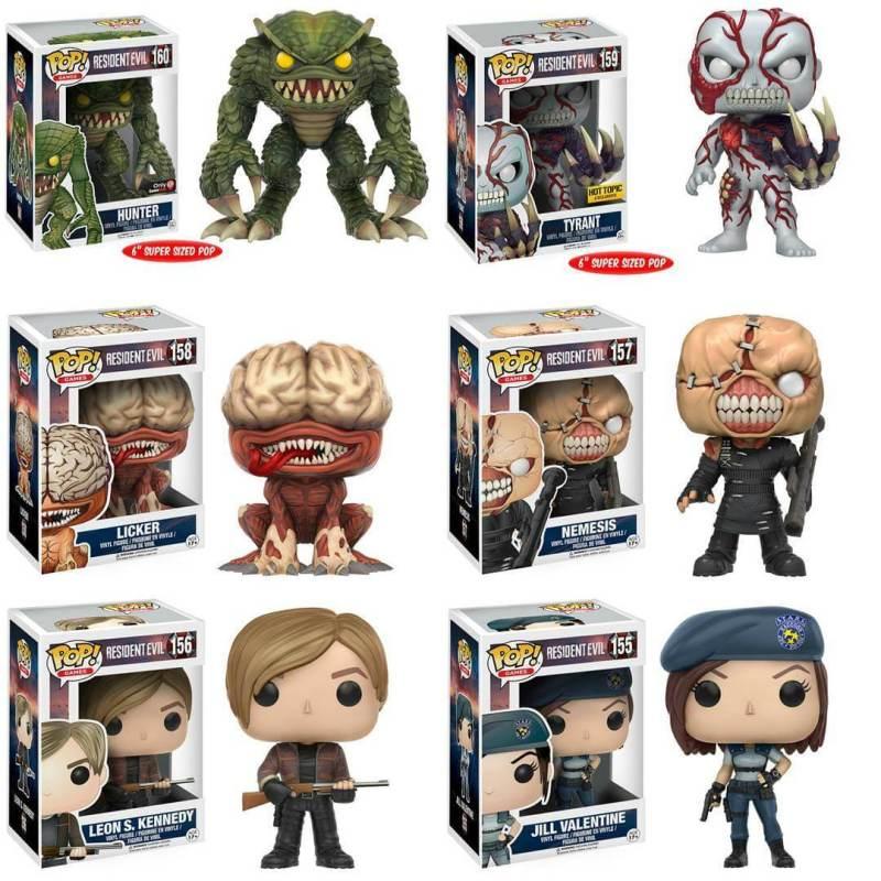 Funko Pop! Resident Evil Figures