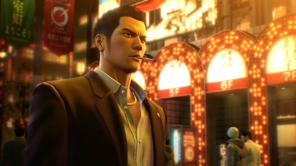 Yakuza 0 review - cigarette