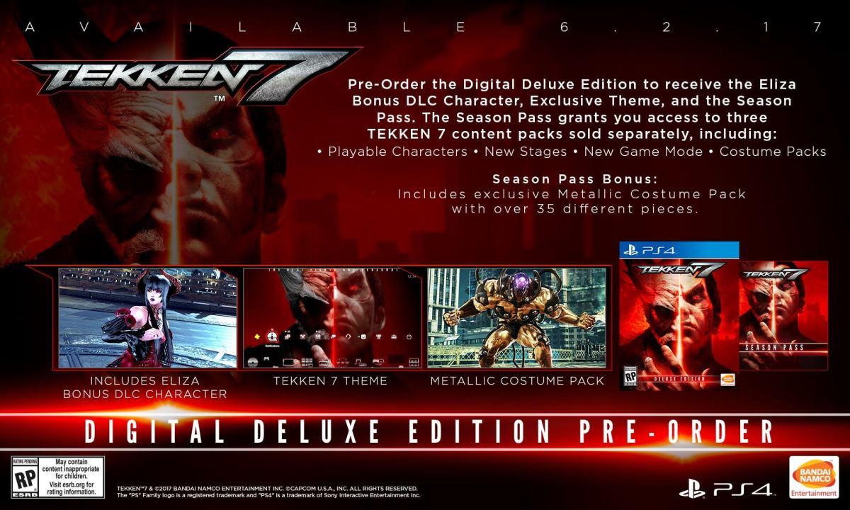 Tekken 7 Digital Deluxe PS4