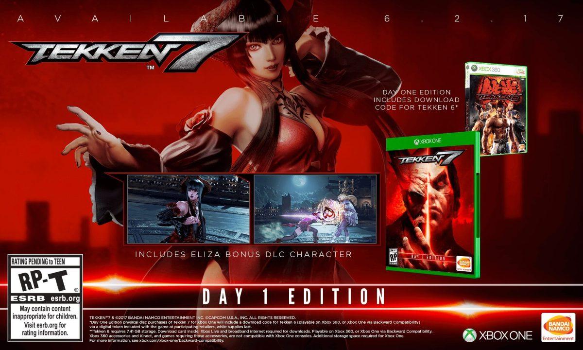 Tekken 7 Day 1 Xbox One