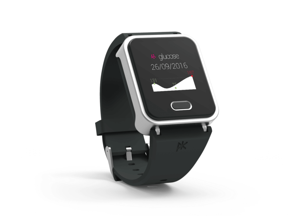 Glucose companion watch most creative CES 2017