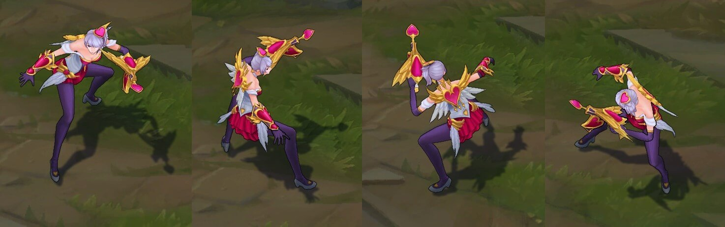 Heartseeker Skins - Quinn in-game