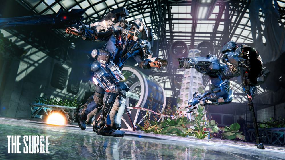 Watch 14 Minutes Of Gameplay From The Surge