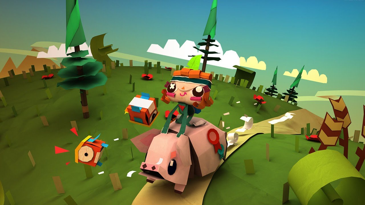 PlayStation Plus - Tearaway Unfolded