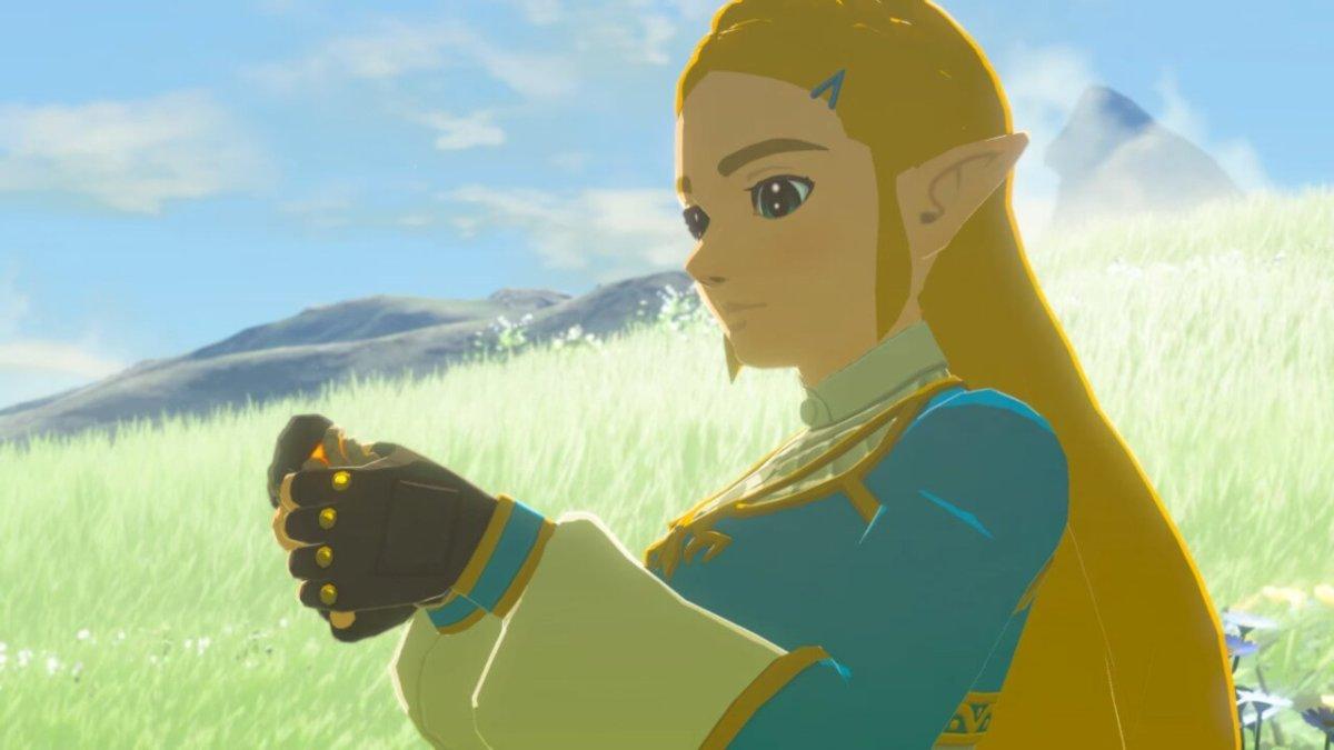 Breath of the Wild Princess Zelda