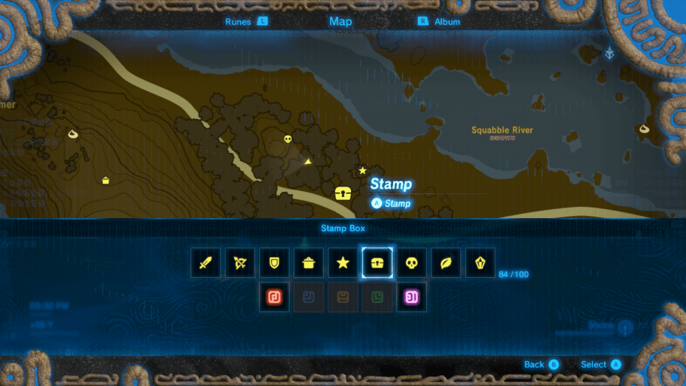 Breath of the Wild tips Map