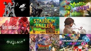 Upcoming Games April 2017