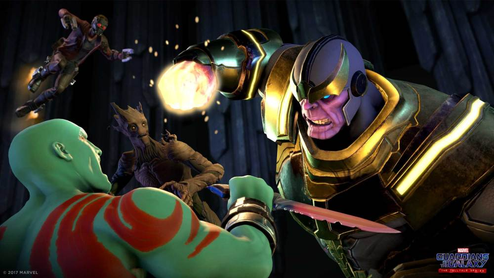 Guardians of the Galaxy: The Telltale Series Thanos