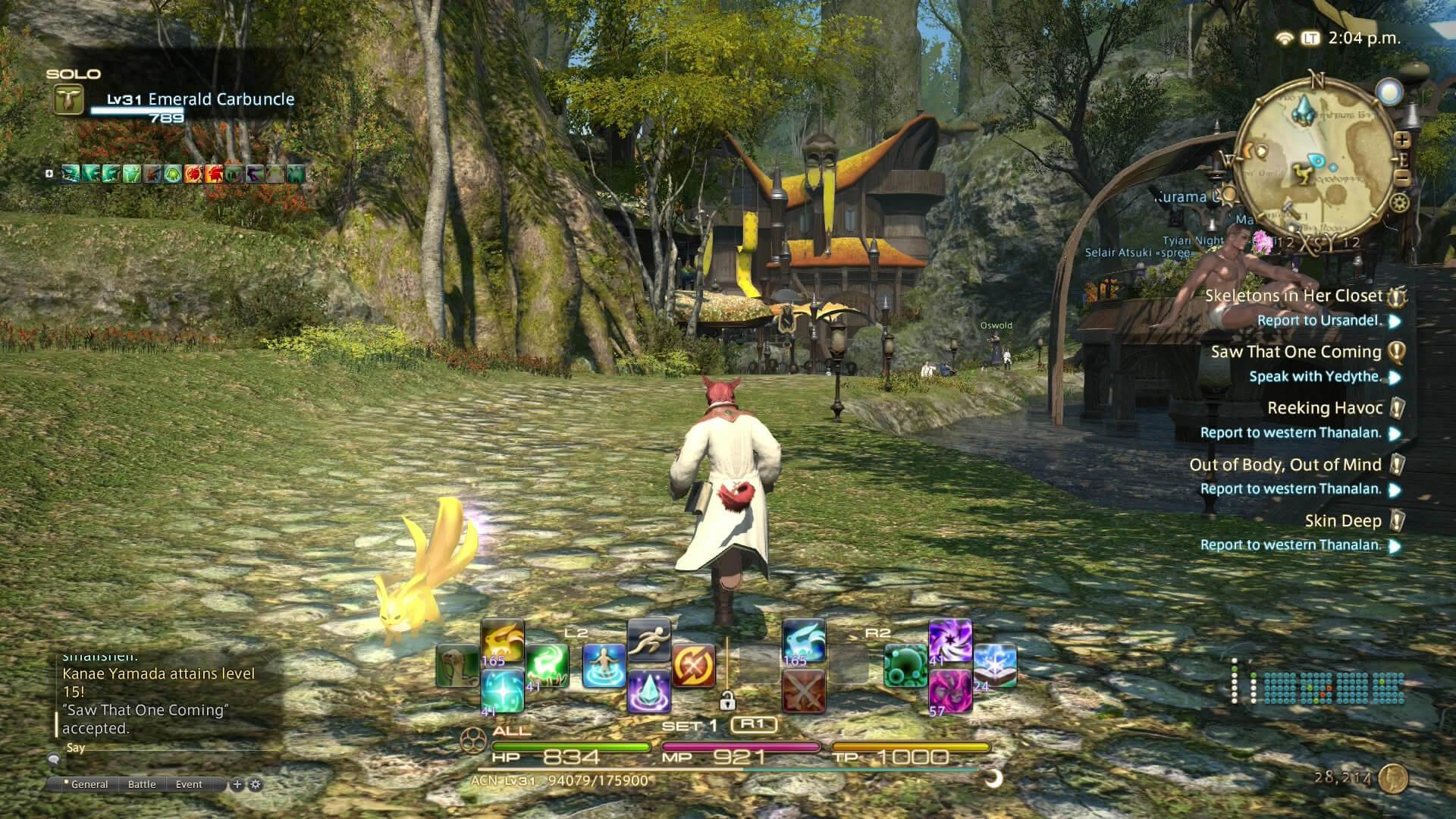 Final Fantasy XIV Gameplay