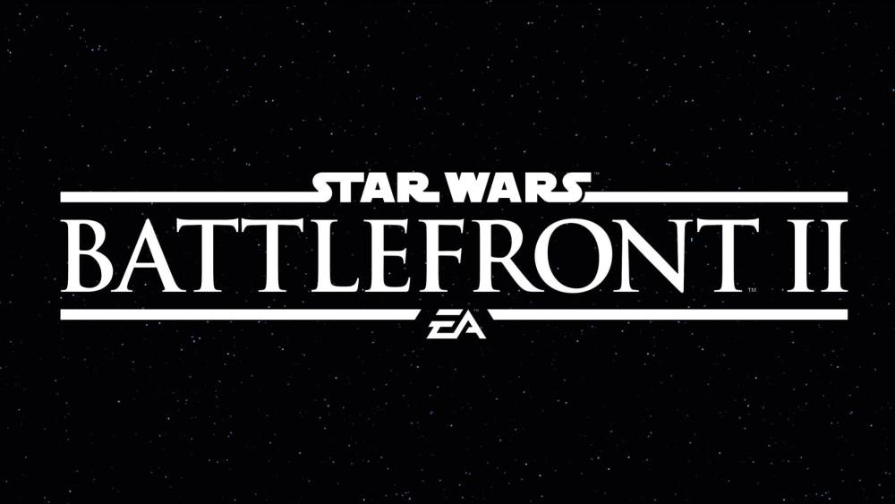 Star wars battlefront 2 title card