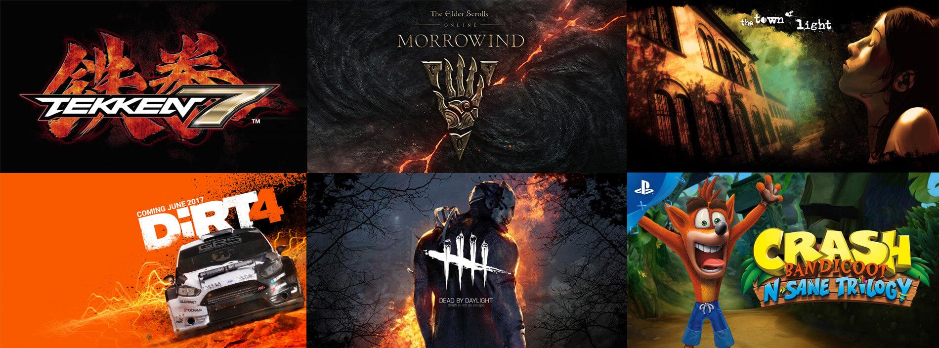 Upcoming Games June 2017