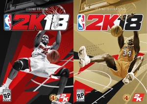 Shaq Covers NBA 2k18