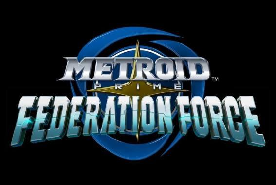 Metroid Prime Federation Force Logo