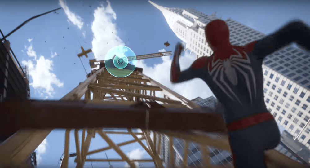 Spider-Man PS4 E3 2017 Crane