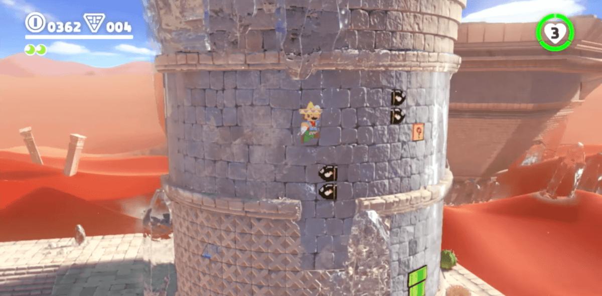 Super Mario Odyssey E3 2017 2D