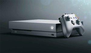 Xbox One X 4K machine